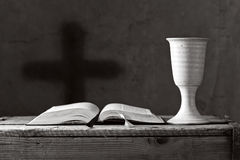 Communion under both kinds, shallow depth of field Stock Photos