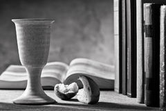 Communion under both kinds Royalty Free Stock Images