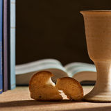 Communion under both kinds Stock Images