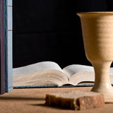 Communion under both kinds Royalty Free Stock Photo