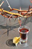 communion zabranie zdjęcia stock