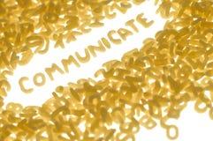 communiquez Photos stock
