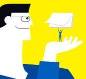 communiquez illustration libre de droits