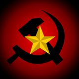 Communism symbol Stock Photography
