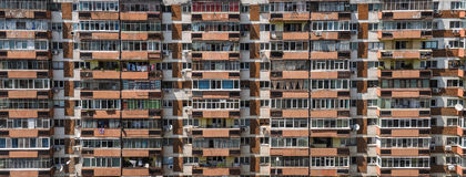 Communist block of flats Stock Images