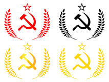 Communist Emblem Royalty Free Stock Photography