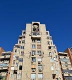 Communist-era apartment blocks in Bucharest, Romania Stock Images