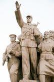 Communist Monument in Tiananmen Square, Beijing, China Stock Image
