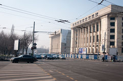 Communist old building Royalty Free Stock Images