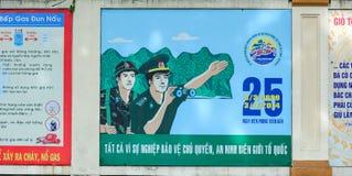 Communist propaganda in Saigon Stock Photography
