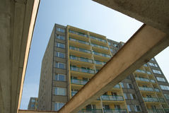 Communist style apartments Stock Photography