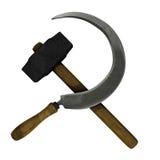 Communist symbol royalty free stock photography