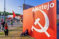 Communist symbol decorating the Alentejo Pavilion. Royalty Free Stock Photography