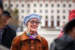 Communistenpartij in een Meidag Royalty-vrije Stock Afbeeldingen