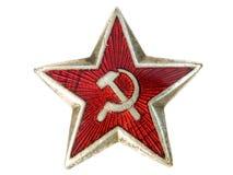Communistische ster Royalty-vrije Stock Foto's