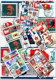 Communists collage Royalty Free Stock Images