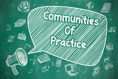 Communities Of Practice - Business Concept. Stock Photo