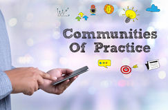Communities Of Practice Royalty Free Stock Photos