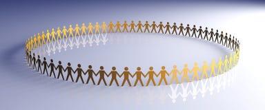 Community. 3D rendered Illustration Stock Image