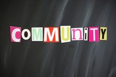 COMMUNITY Lizenzfreie Stockfotos