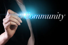 community photo libre de droits