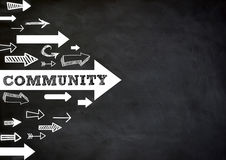 community illustration stock