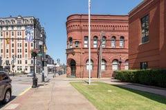 Community Bank Building in Clarksburg West Virginia Royalty Free Stock Photo