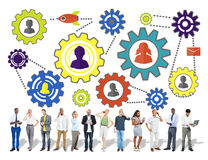 Community Business Team Partnership Collaboration Support Concep Stock Image