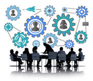 Community Business Team Partnership Collaboration Support Concep Royalty Free Stock Photo