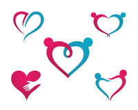 Community Care Logo Stock Image