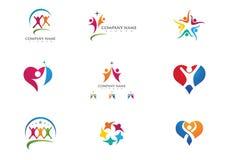Community Care Logo Royalty Free Stock Images