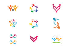 Community Care Logo Stock Images