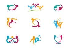 Community Care Logo Royalty Free Stock Photo