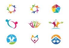Community Care Logo Stock Images