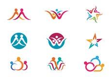 Community Care Logo Royalty Free Stock Photos