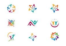 Community Care Logo Royalty Free Stock Image