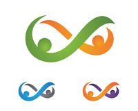 Community care Logo Royalty Free Stock Photography