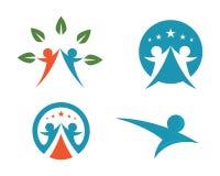 Community care Logo Stock Photo