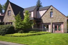 Community center house, Portland OR. Community center house a gathering place, Portland OR Royalty Free Stock Images