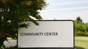Community Center. S are public locations where members of a community tend to gather for group activities, social support, public information, and other purposes royalty free stock photos