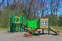 Community Children Playground Royalty Free Stock Photo