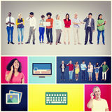 Community Communication Networking Technology Content Concept Royalty Free Stock Images