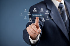 Community concept Royalty Free Stock Photos