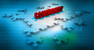 Community Connection Stock Image
