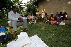 A community empowerment project, Uganda. Stock Photos