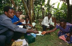 A community empowerment project, Uganda. Royalty Free Stock Images