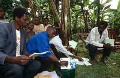 A community empowerment project, Uganda. Stock Photos
