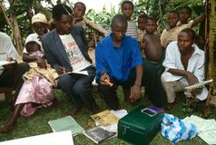 A community empowerment project, Uganda. Stock Image