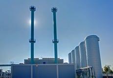 Community energy plant Stock Photos
