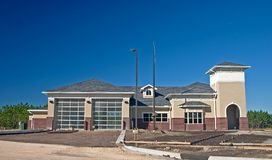 Community firestation. Newly constructed community fire station Royalty Free Stock Photography